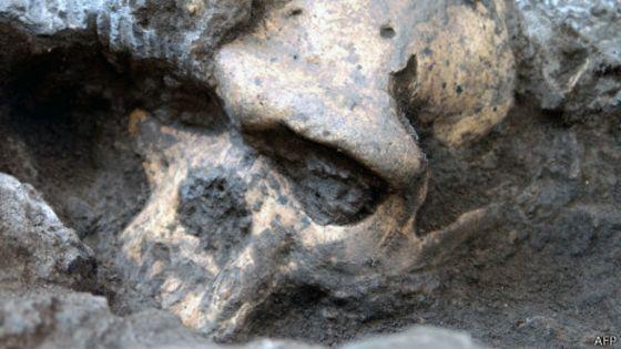 Resultado de imagem para cranios encontrados em presidio