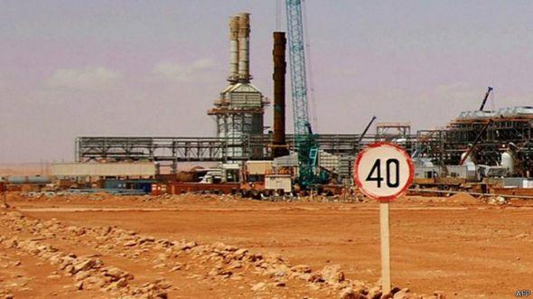 Planta de gas en Argelia