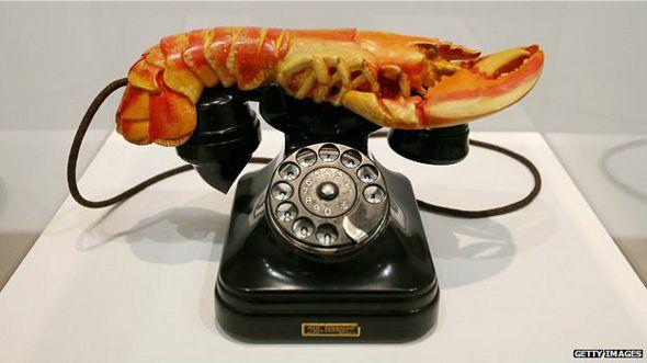 Teléfono langosta