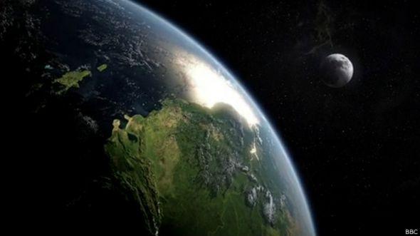 Luna y la Tierra