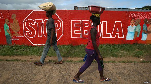 На улицах Либерии