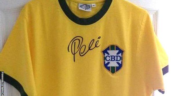 Camiseta de Pelé