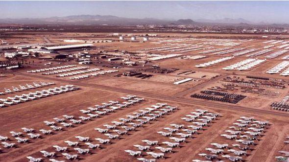 Cementerio de aviones de las Fuerzas Aereas de Estados Unidos (USAF)
