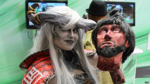 Участница Comic Con