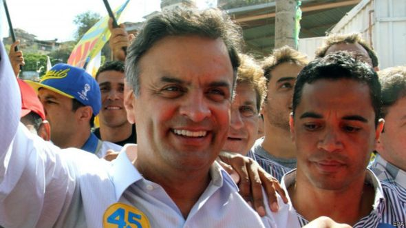 Aécio Neves (EPA)