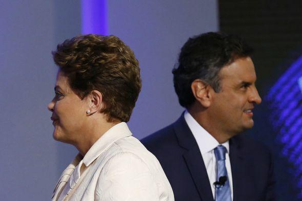 Dilma e Aécio / Crédito: Reuters