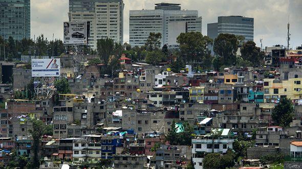 Barrios pobres en México