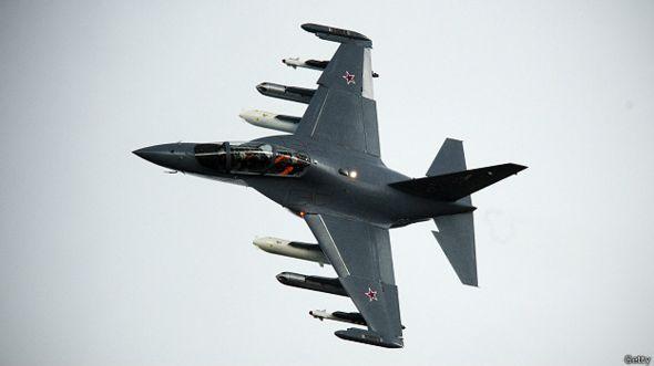 Российский штурмовик Як-130