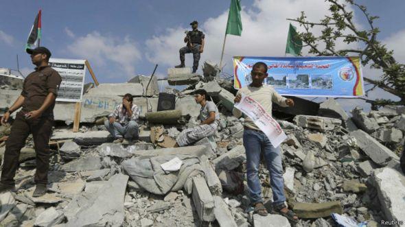 عالمي حكومة الوحدة الفلسطينية تعقد اجتماعاتها 141009121243_gaza_64