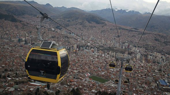 Teleférico de La Paz a El Alto
