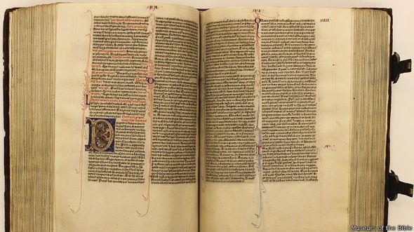foto cortesía del Museo de la Biblia