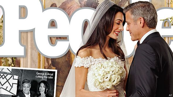 Boda de Amal y George Clooney
