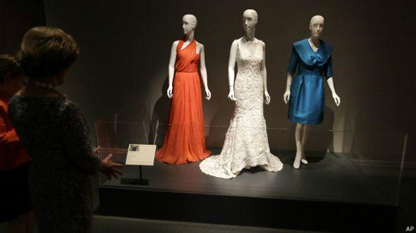 Los vestidos de la boda de Jenna Bush, diseñados por Óscar de la Renta.