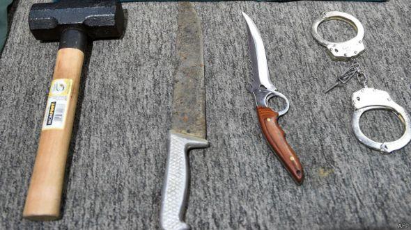 As armas do serial killer brasileiro
