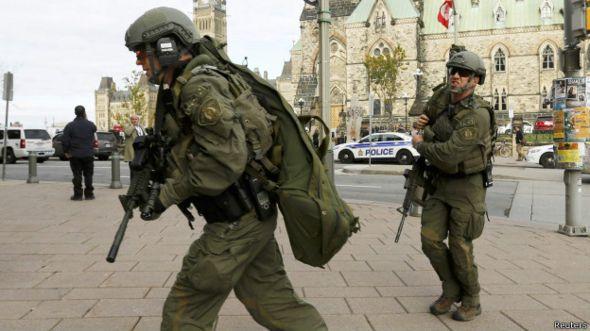 Fuerzas de seguridad de Canadá