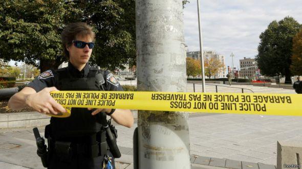 Policía acordona área del ataque