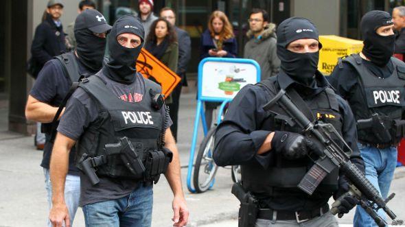 Policía armada