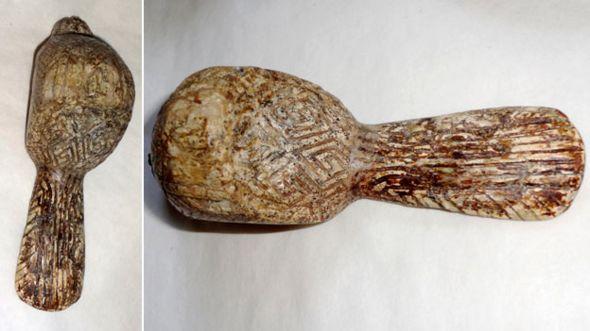 Фигурка птицы из Киевского исторического музея