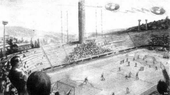 Зарисовка происшествия на стадионе Артемия Франки