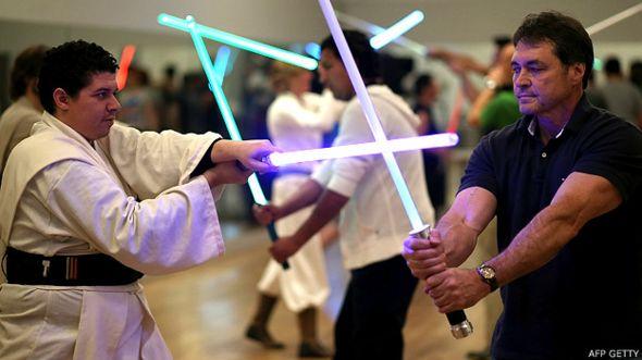Seguidores de Star Wars en Estados Unidos