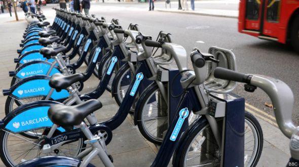 Bicicletas públicas de Londres