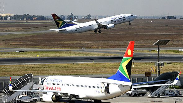 Phi trường OR Tambo ở Johannesburg