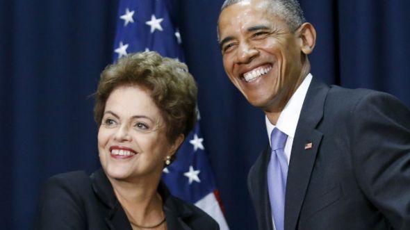 Dilma e Obama na Cúpula das Américas, em abril (Reuters)