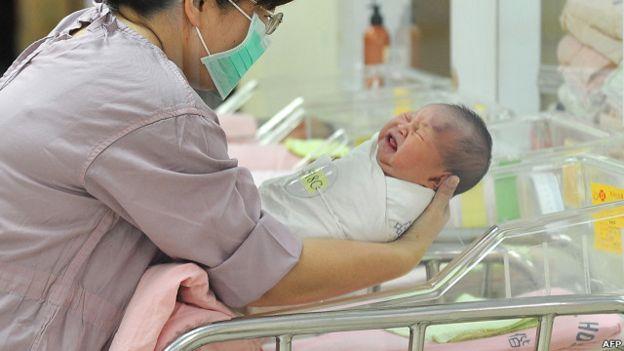 嬰兒的性別問題在中國一直受到關注。