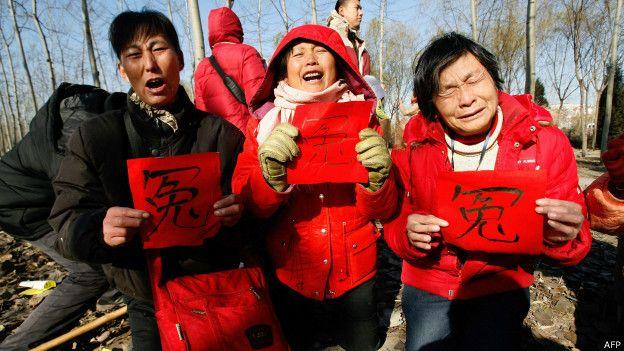 到北京上访的访民(资料图片)