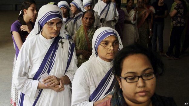 Các nữ tu Dòng Thừa Sai Bác Ái