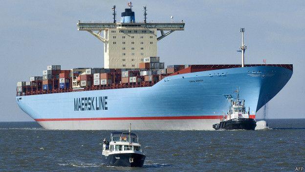 Barco de Maersk