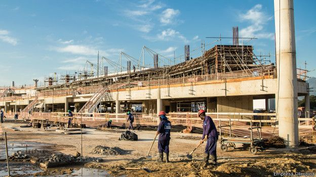 Obras Parque Olimpico | Divulgacao