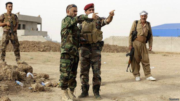 Las fuerzas kurdas tomaron en noviembre el control de parte de la provincia de Hassakeh.