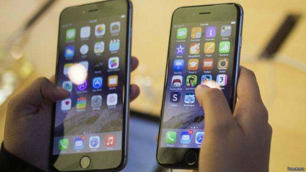 El iPhone 6 Plus sólo dejó de funcionar al aplicarle una presión de 81 Kg.