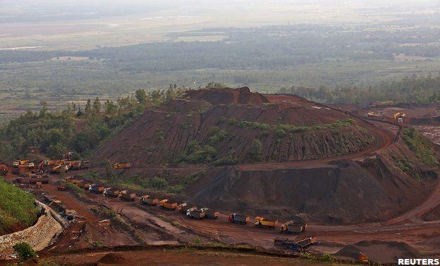 Mina de ferro (Reuters)