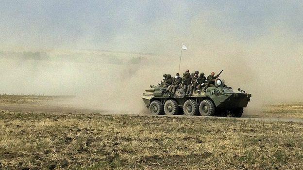 БМП в Ростовской области
