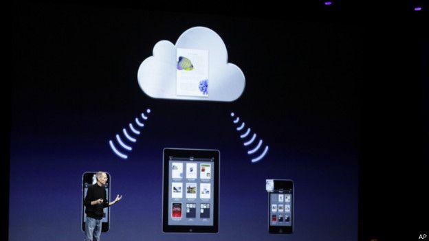 Presentación de Apple del iCloud