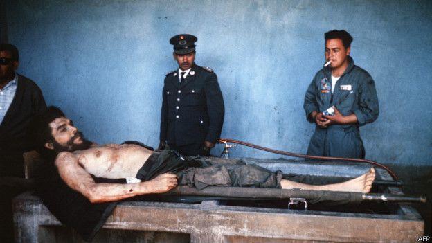 Ernesto Che Guevara muerto en Bolivia.