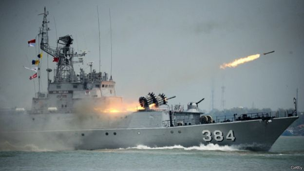 TNI Al berencana menambah kekuatan di wilayah perairan Kepulauan Natuna. Namun, rencana itu belum terwujud.  | Getty Images