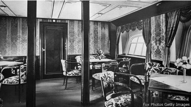 Interior del Graf Zeppelin