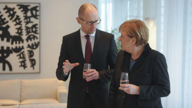 Меркель і Яценюк