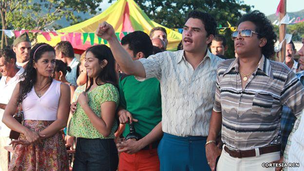 Escena de la telenovela