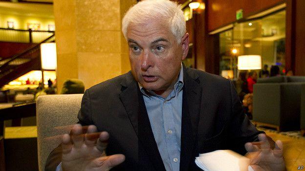 El expresidente de Panamá Ricardo Martinelli también hizo de su éxito empresarial una carta de presentación electoral.