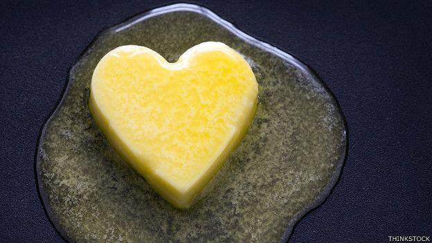 Un corazón de mantequilla