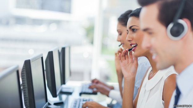 Atendentes de telemarketing (foto: Thinkstock)