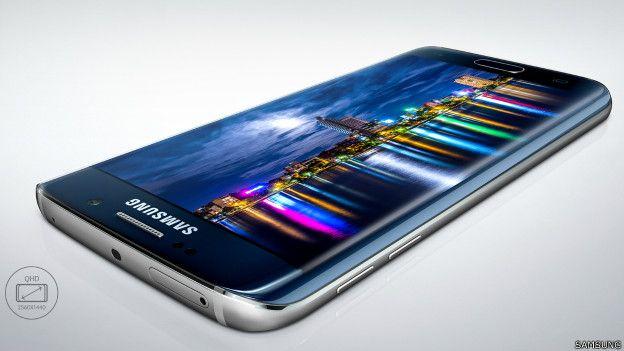 La pantalla de Samsung se resquebrajó antes que la del iPhone 6.