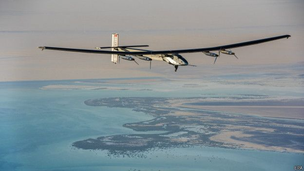 Güneş enerjili uçakla Büyük Okyanus'u geçme girişimi