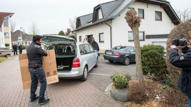 Investigación en la residencia de los padres de Andreas Lubitz
