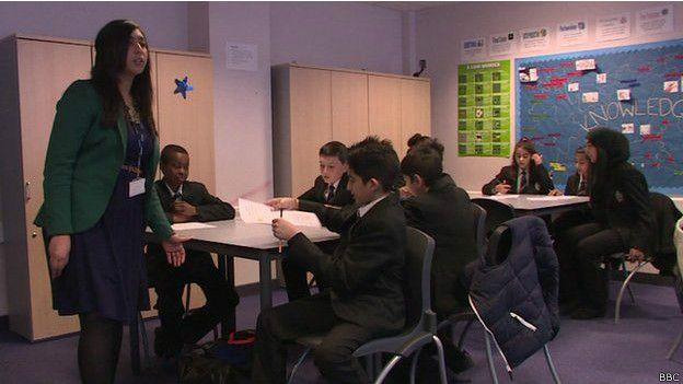 Урок основ сексуального образования в одной из лондонских школ