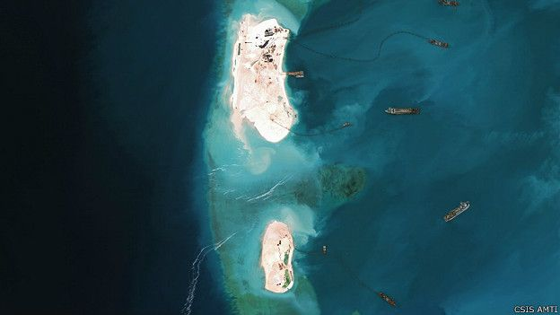 Arrecife Mischief, Mar Sur China